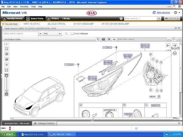Kia Mcat V6